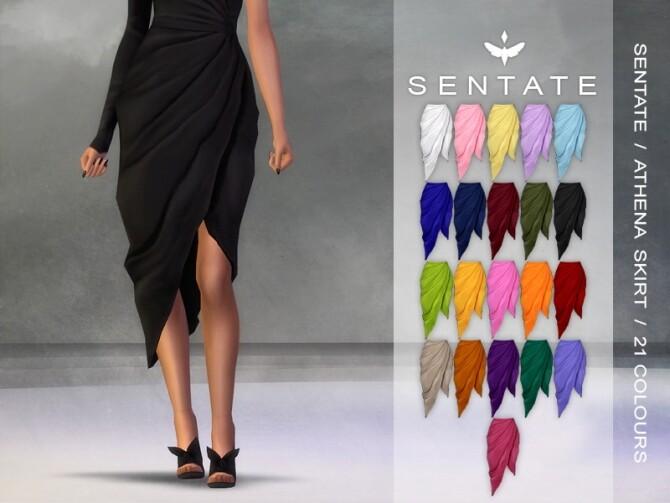 Sims 4 Athena Skirt at Sentate