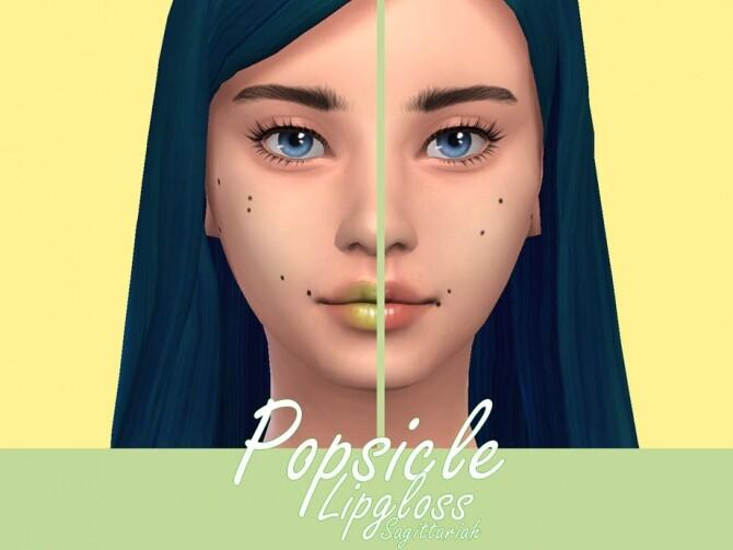 Sims 4 Popsicle Lipgloss by Sagittariah at TSR