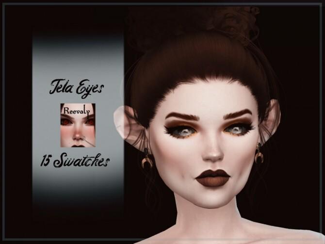 Sims 4 Tela Eyes by Reevaly at TSR