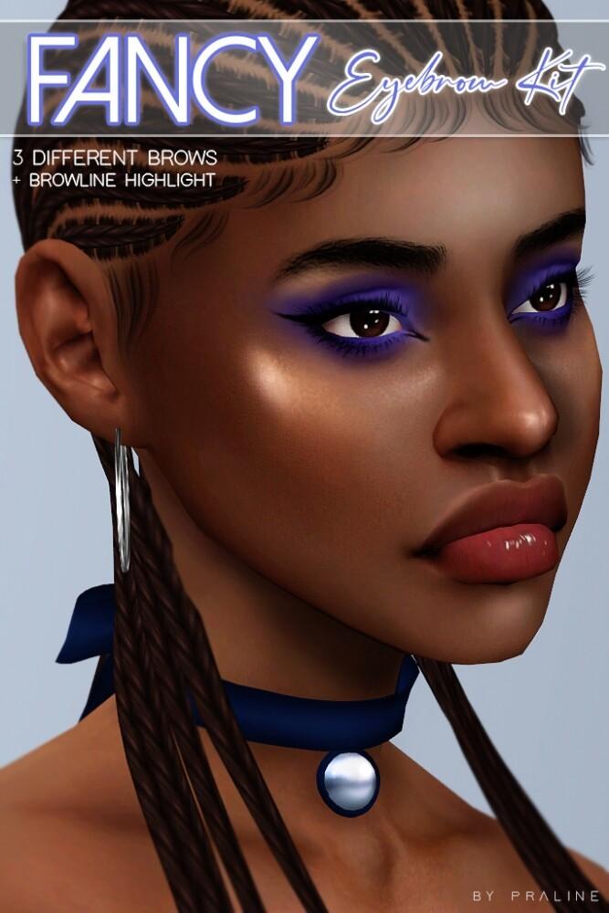 Fancy eyebrow kit at Praline Sims image 2332 667x1000 Sims 4 Updates