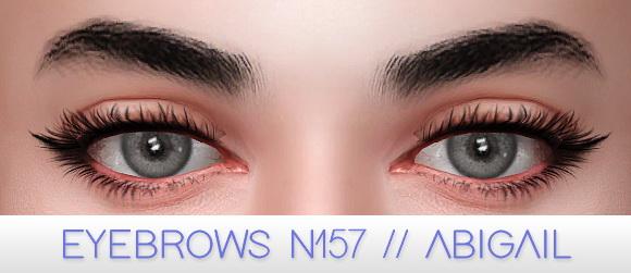 Fancy eyebrow kit at Praline Sims image 2342 Sims 4 Updates