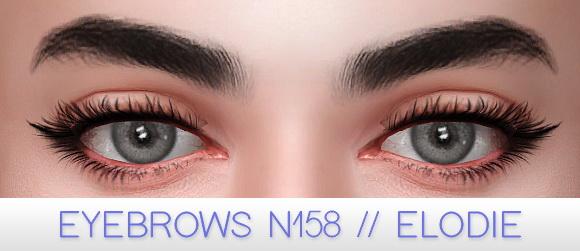 Fancy eyebrow kit at Praline Sims image 2352 Sims 4 Updates