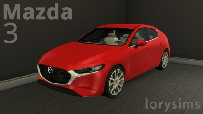 Mazda 3 by LorySims