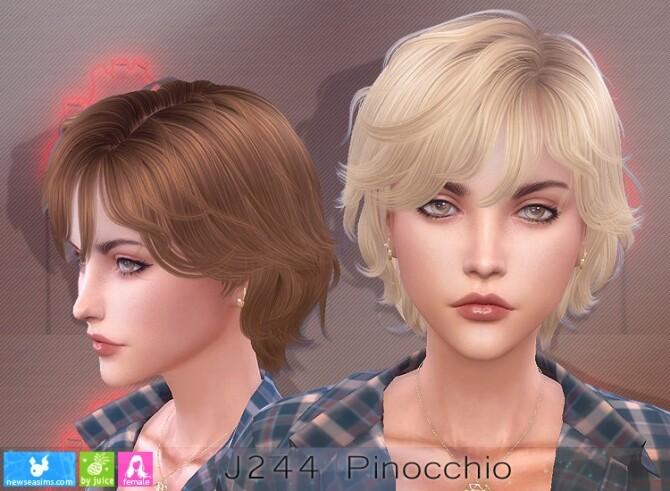 J244 Pinocchio hair females