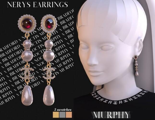 Nerys Earrings by Silence Bradford