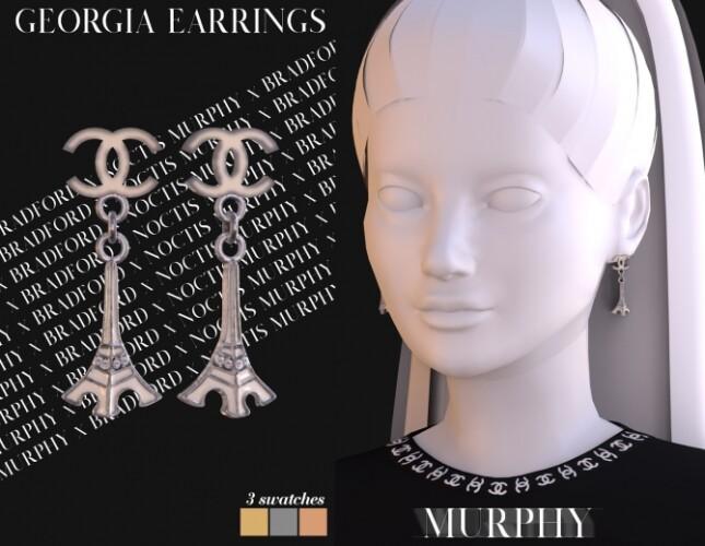 Georgia Earrings by Silence Bradford
