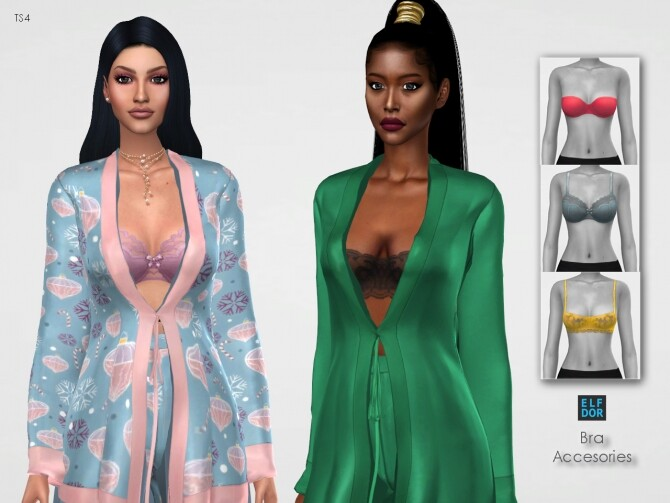 Sims 4 Bra Accessories at Elfdor Sims