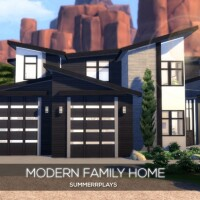 Modern Family Home by Summerr Plays