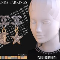 Gwenda Earrings by Silence Bradford
