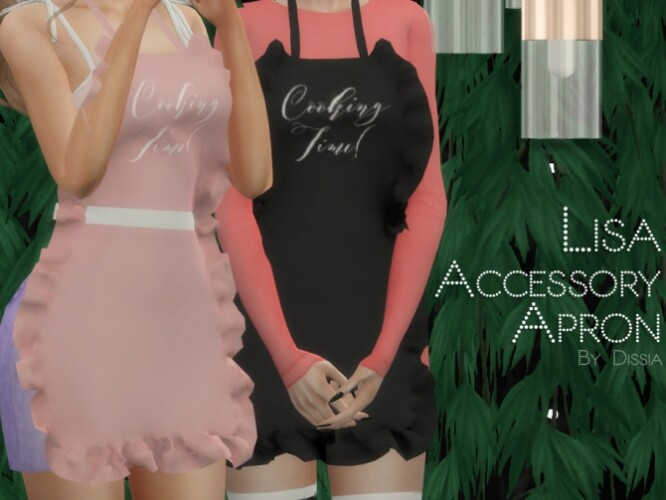 Lisa Apron Accessory by Dissia