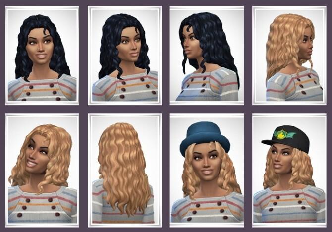 Sims 4 Alison Hair at Birksches Sims Blog