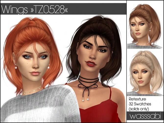 Wings TZ0528 hair retextured at Wasssabi Sims image 2433 670x503 Sims 4 Updates