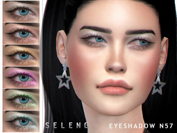 Eyeshadow N57 by Seleng at TSR image 2435 670x503 Sims 4 Updates
