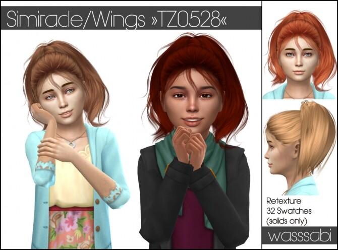 Wings TZ0528 hair retextured at Wasssabi Sims image 2443 670x496 Sims 4 Updates