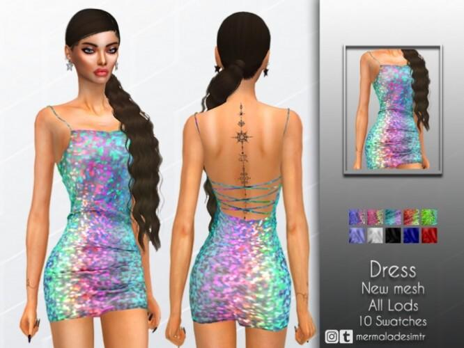 Glitter Dress by mermaladesimtr