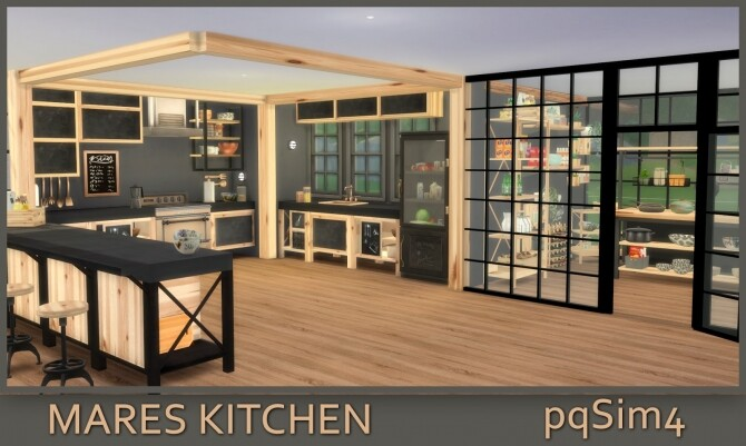 Mares Kitchen at pqSims4 image 2482 670x401 Sims 4 Updates