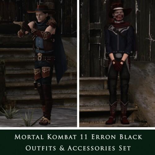 Mortal Kombat 11 Erron Black Set