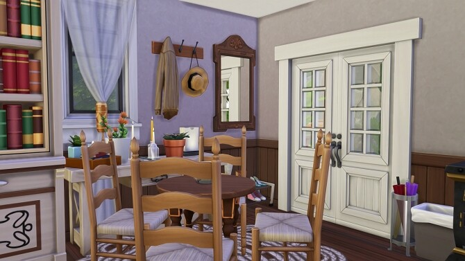 OFF THE GRID FAMILY HOME at Aveline Sims image 2542 670x377 Sims 4 Updates