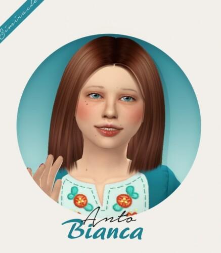 Anto Bianca Hair Kids Version