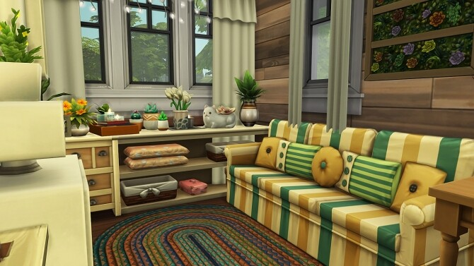 OFF THE GRID FAMILY HOME at Aveline Sims image 256 670x377 Sims 4 Updates