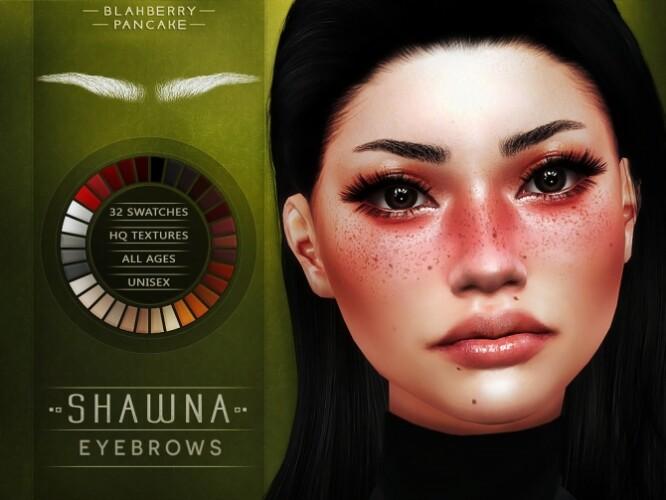 Shawna eyebrows