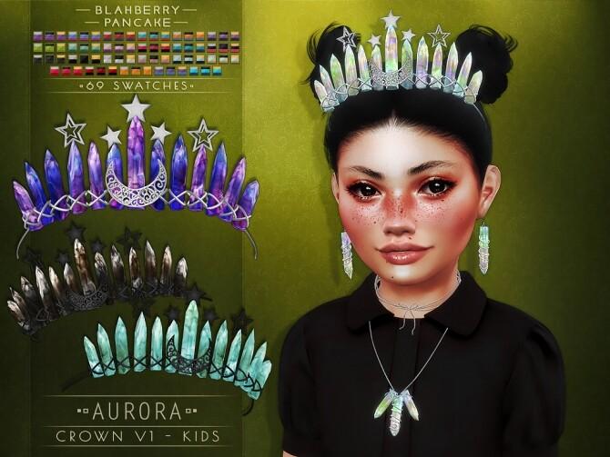 Aurora set for kids at Blahberry Pancake image 259 670x503 Sims 4 Updates
