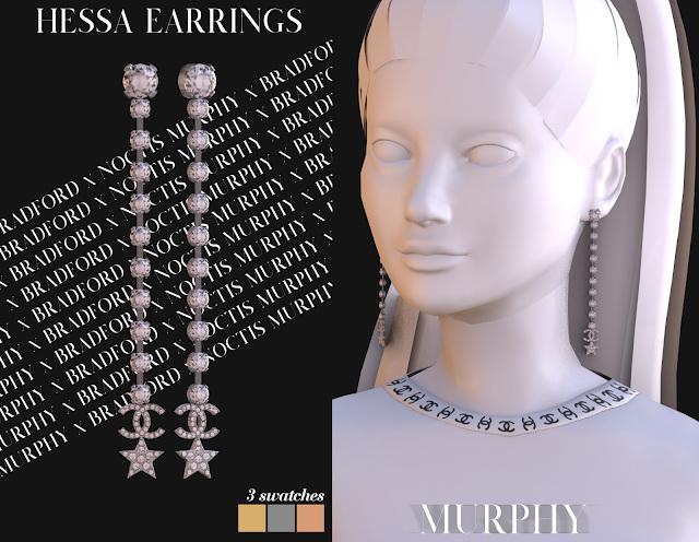 Hessa Earrings by Silence Bradford