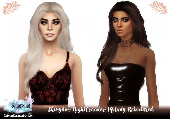 NightCrawler Milady Hair Retexture
