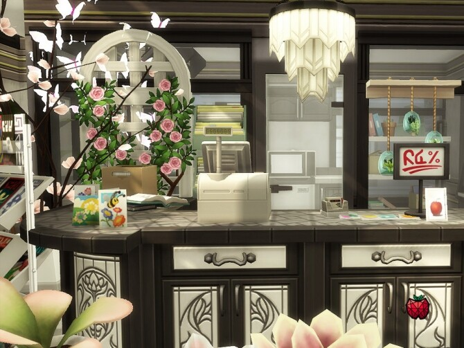 Daisy flower shop no cc by melapples at TSR image 2613 670x503 Sims 4 Updates