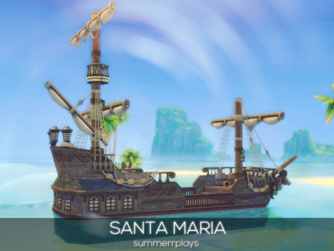 Santa Maria ship by Summerr Plays
