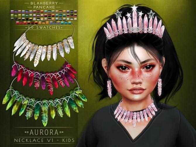 Aurora set for kids at Blahberry Pancake image 2621 670x503 Sims 4 Updates