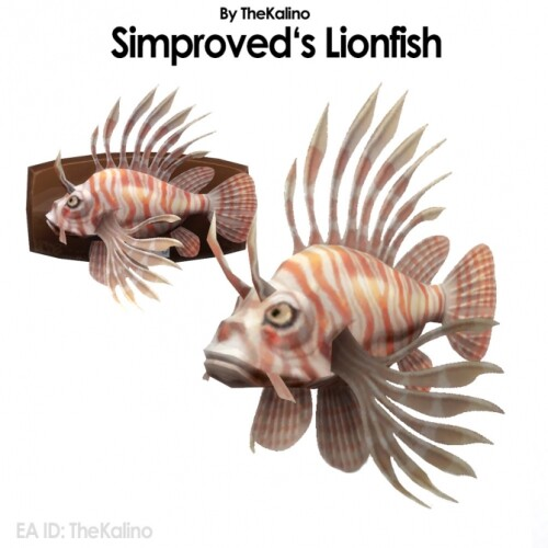 Simproved Lionfish