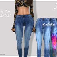 Denim Jeans 2K325 by JavaSims
