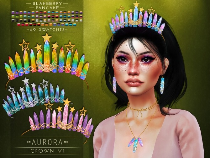 Aurora set at Blahberry Pancake image 2641 670x503 Sims 4 Updates