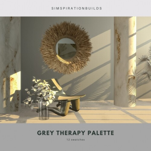 Gray therapy palette walls