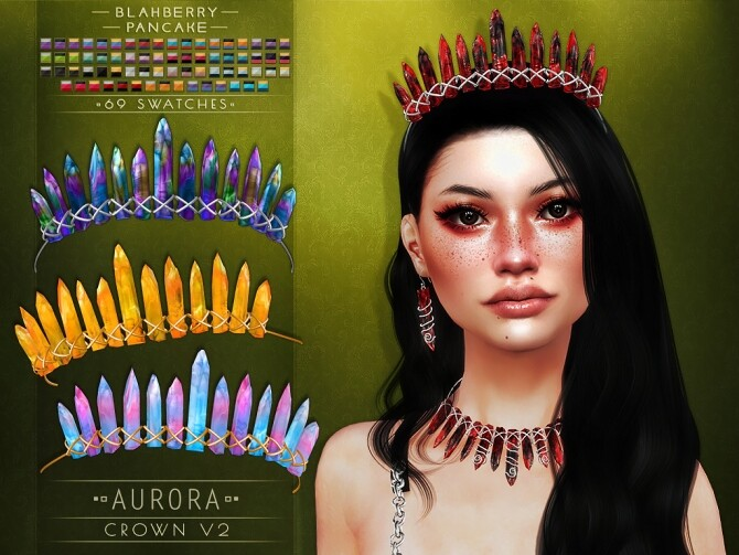 Aurora set at Blahberry Pancake image 265 670x503 Sims 4 Updates