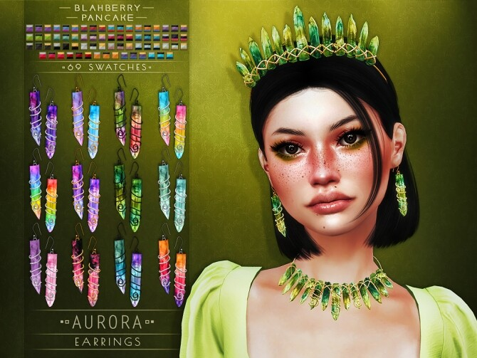 Aurora set at Blahberry Pancake image 266 670x503 Sims 4 Updates