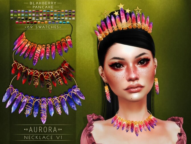 Aurora set at Blahberry Pancake image 267 670x503 Sims 4 Updates