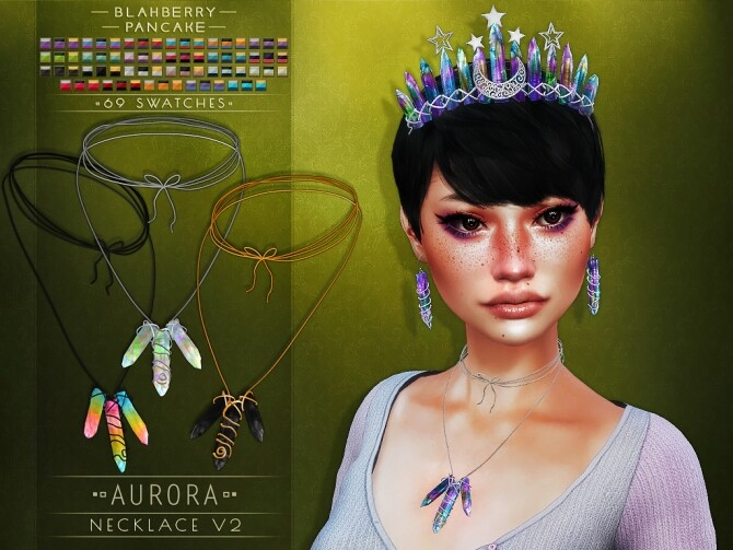 Aurora set at Blahberry Pancake image 268 670x503 Sims 4 Updates