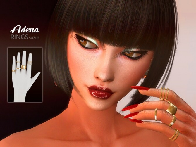 Adena Rings by Suzue at TSR image 2715 670x503 Sims 4 Updates