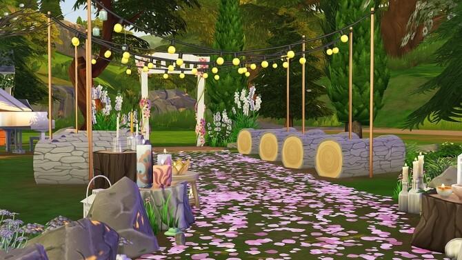 WOODLAND WEDDING VENUE at Aveline Sims image 27210 670x377 Sims 4 Updates