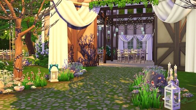 WOODLAND WEDDING VENUE at Aveline Sims image 2735 670x377 Sims 4 Updates