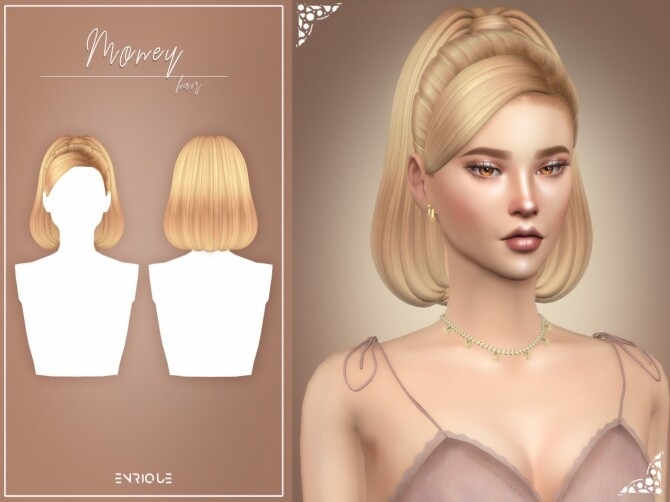 Money Hairstyle at Enriques4 image 2753 670x502 Sims 4 Updates