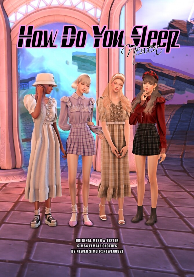 How do you sleep set at NEWEN image 2772 670x955 Sims 4 Updates