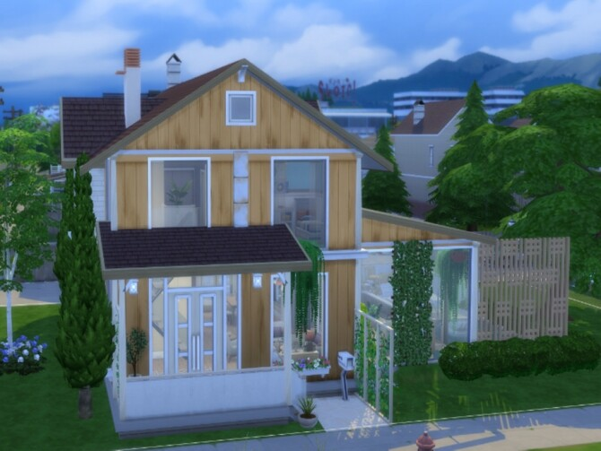 Sims 4 Brookdale Spring house by  LJaneP6 at TSR
