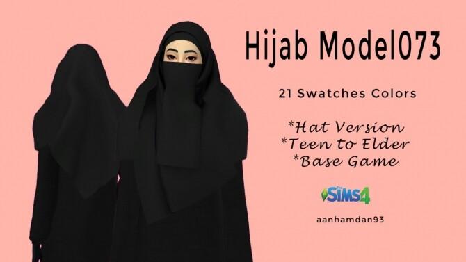 Sims 4 Hijab Model073 & Ismi Longdress at Aan Hamdan Simmer93