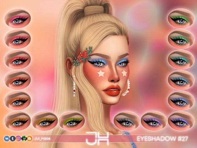 Sims 4 EYESHADOW #27 by Jul Haos at TSR