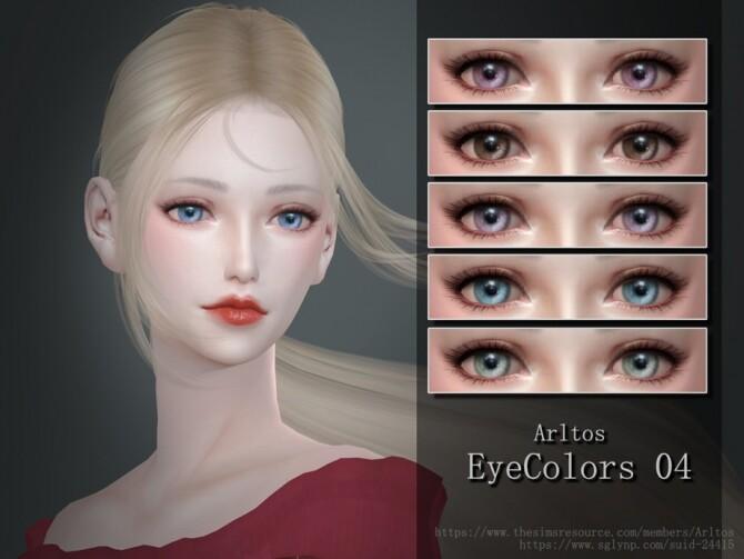 Sims 4 Eyecolors 04 by Arltos at TSR