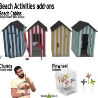 Beach activities add-ons