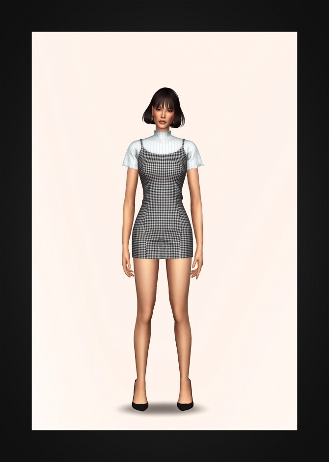 Bustier Dress & Turtleneck at Gorilla image 2852 670x940 Sims 4 Updates